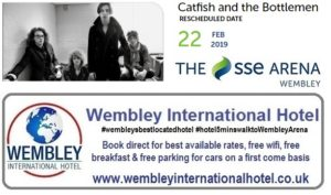 Catfish and The Bottlemen Wembley Arena Feb 2019