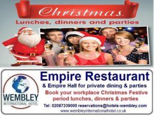 Christmas at Wembley International