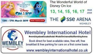 Disney on Ice Wembley Arena 2019