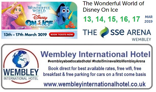 Disney on Ice Wembley Arena 2019