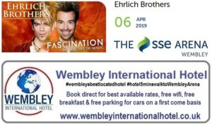 Ehrlich Brothers at The SSE Arena Wembley 2019