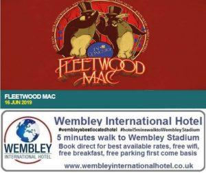 Fleetwood Mac Wembley Stadium 2019