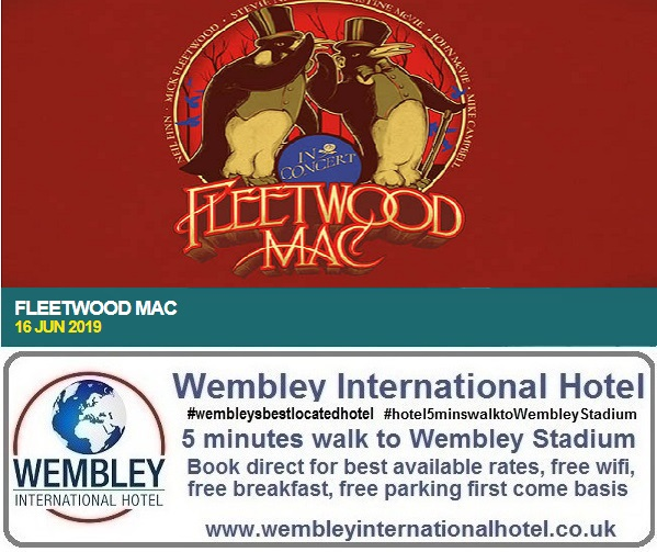 Fleetwood Mac Wembley Stadium 2019
