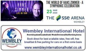Hans Zimmer SSE Arena Wembley March 2019