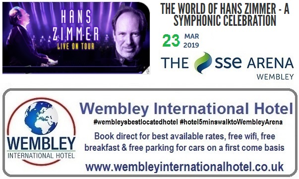 Hans Zimmer SSE Arena Wembley March 2019