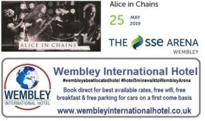 Alice in Chains Wembley May 2019