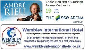 Andre Rieu Wembley Dec 19 2018