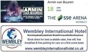 Armin van Buuren at The SSE Arena, Wembley April 2019