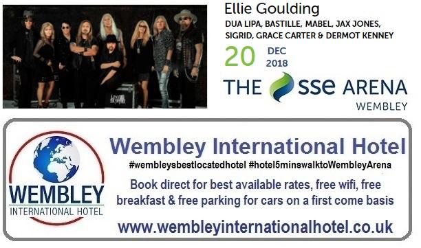 Ellie Goulding at The SSE Arena Wembley