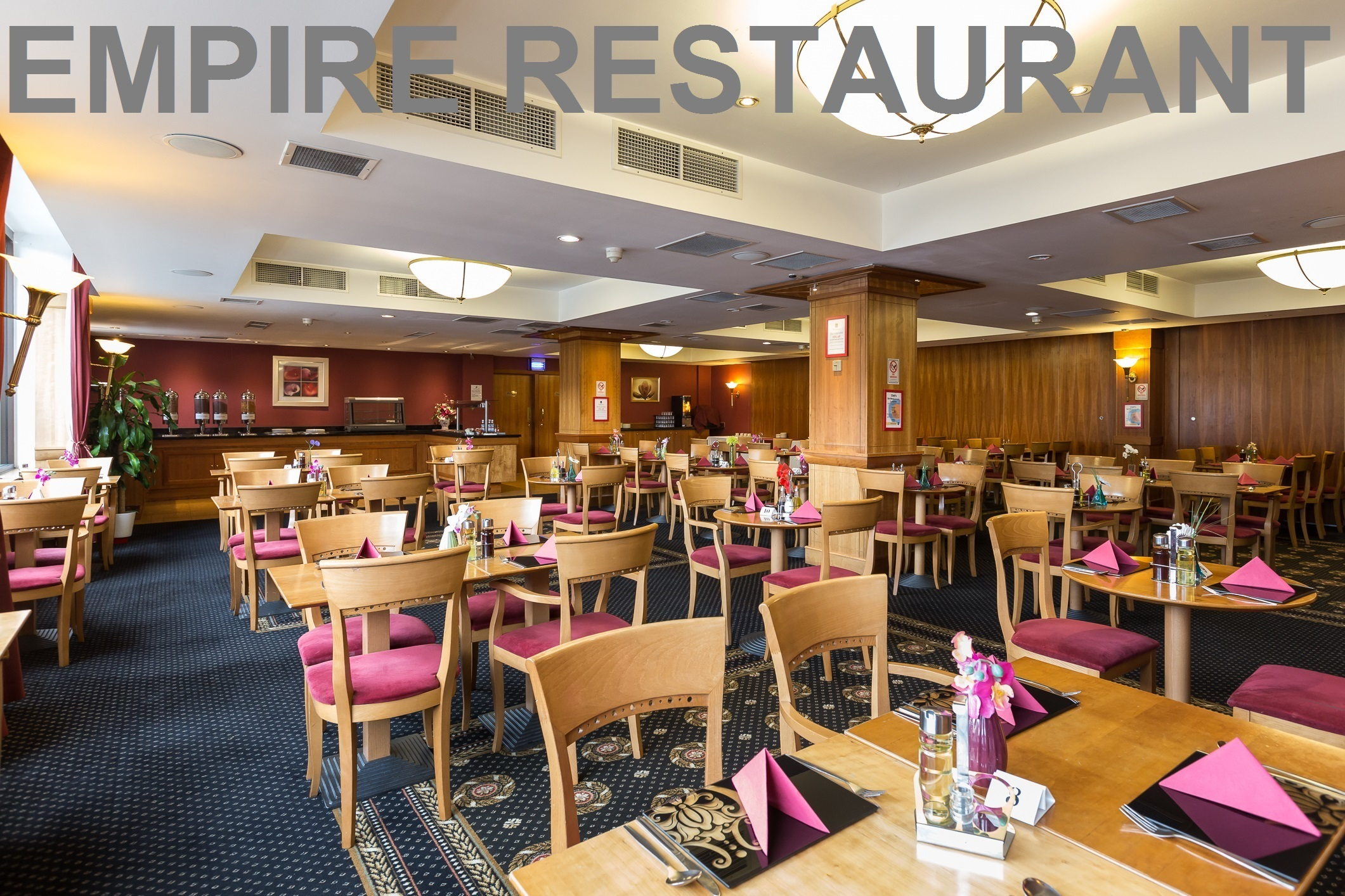 Pre Wembley Stadium and Arena event dinners