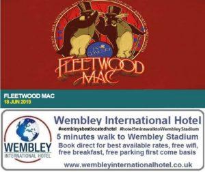 Fleetwood Mac Wembley Stadium 18 June 2019