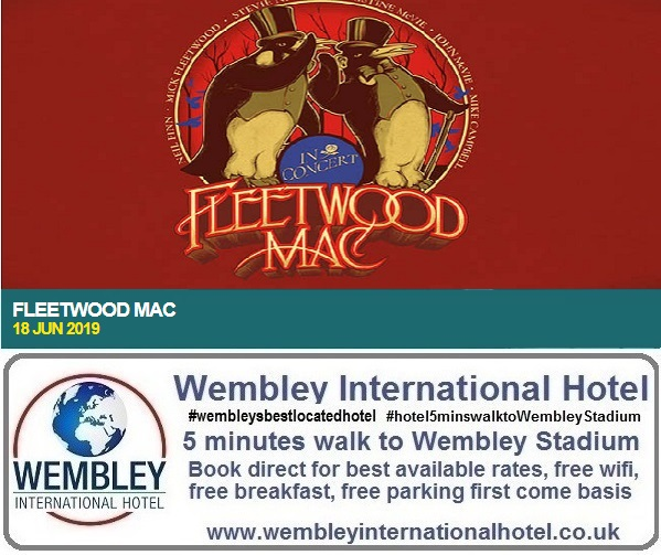 Fleetwood Mac Wembley Stadium 18 June 2019