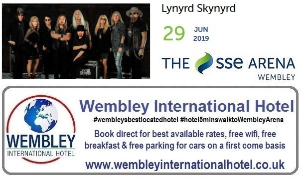 Lynryrd Skynyrd Wembley 2019