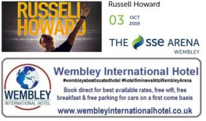 Russell Howard SSE Arena Oct 2019