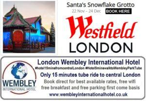 Santa's Snowflake Grotto London 2018