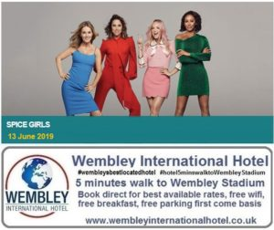 Spice Girls Wembley Stadium 13 June 19