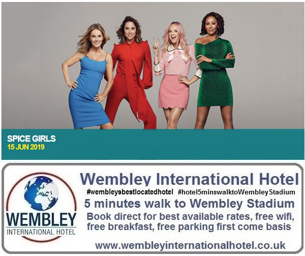 Spice Girls Wembley Stadium June 2019