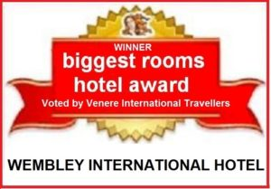 Largest Hotel Rooms in Wembley