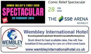 Comic Relief Wembley Arena 2019
