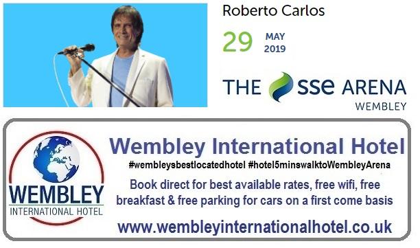 Roberto Carlos at The SSE Arena May 2019