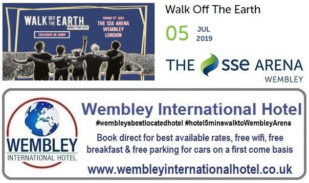 Walk Off The Earth Wembley 2019