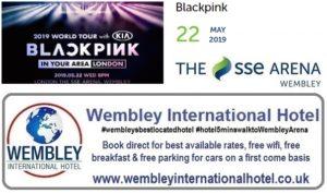 Blackpink at The SSE Arena, Wembley 2019