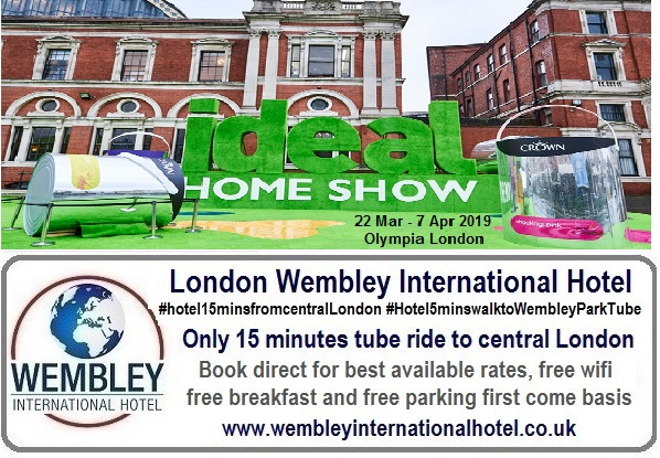 Ideal Home Show Olympia London 2019