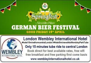 Springfest German Bier Festival London 2019