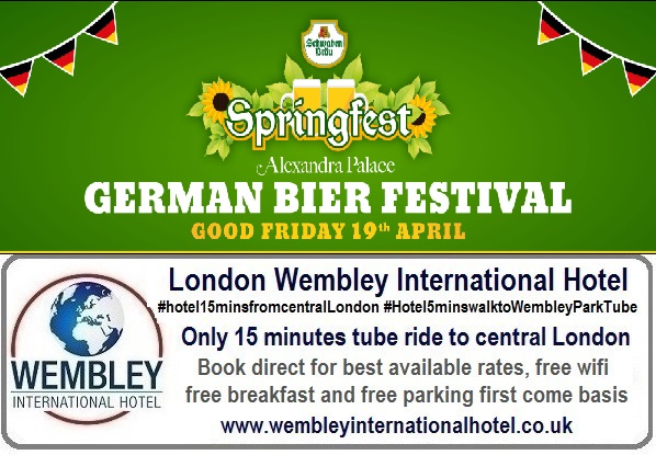 Springfest German Bier Festival London 2019