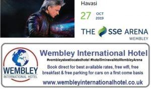 Havsai Wembley Arena Oct 2019