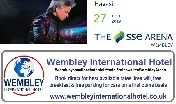 Havsai Wembley Arena Oct 2019
