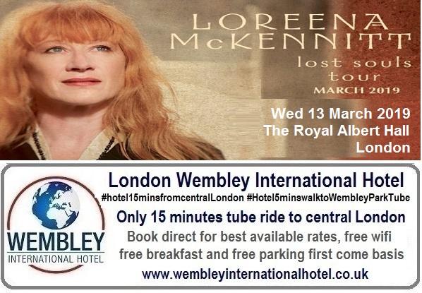 Loreena McKennitt Royal Albert Hall March 2019