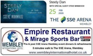 Wembley Arena Steely Dan