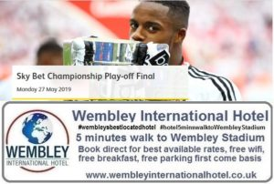 Wembley Stadium Championship Play Off Final 2019