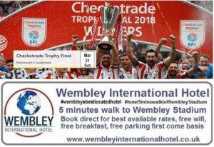 Sunderland v Portsmouth Wembley 2019