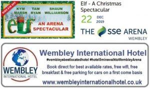 Wembley Arena ELF Christmas Spectacular Dec 2019