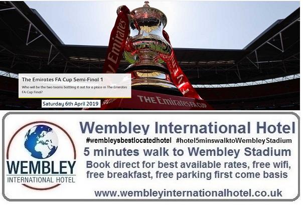 FA Cup Semi Final 1 at Wembley Stadium