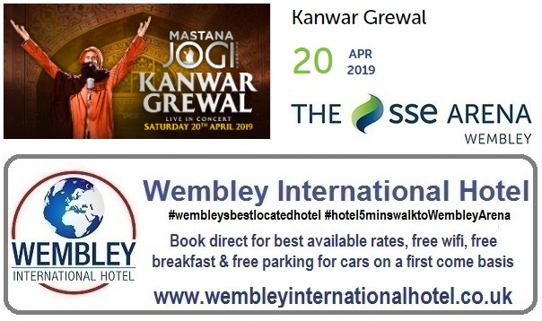 Wembley Arena Kanwar Grewal