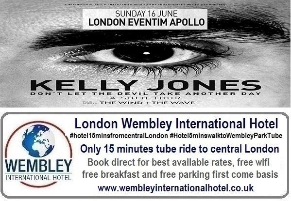 Eventim Apollo Kelly Jones June 2019