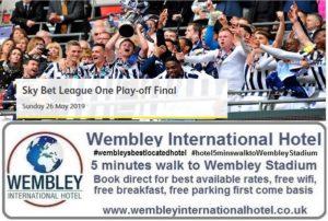 Play Off Final League 1 Wembley Stadium May 2019