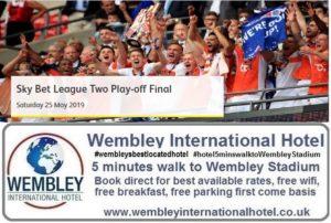 Play Off Final League 2 Wembley 2019