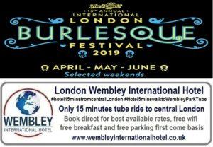International Burlesque Festival London 2019