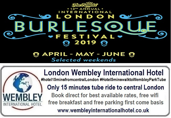 International Burlesque Festival London 2019