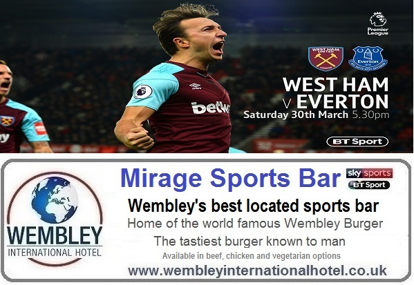Live football Mirage Sports Bar Wembley
