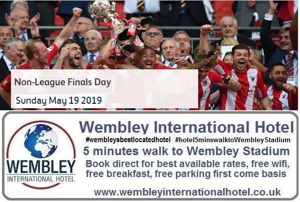 Buildbase FA Vase and Trophy Finals 2019