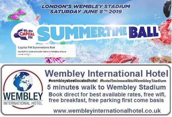 Wembley Stadium Capital Summer Ball 2019