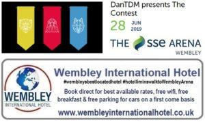 DanTDM Wembley Arena June 2019
