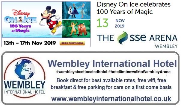 Wembley Arena Disney On Ice 2019