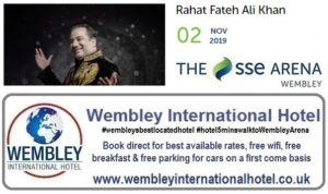 Wembley Arena Rahat Fateh Ali Khan