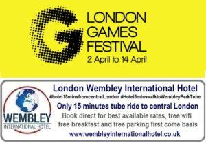 Free Family Day London Games Festival 13 April 2019